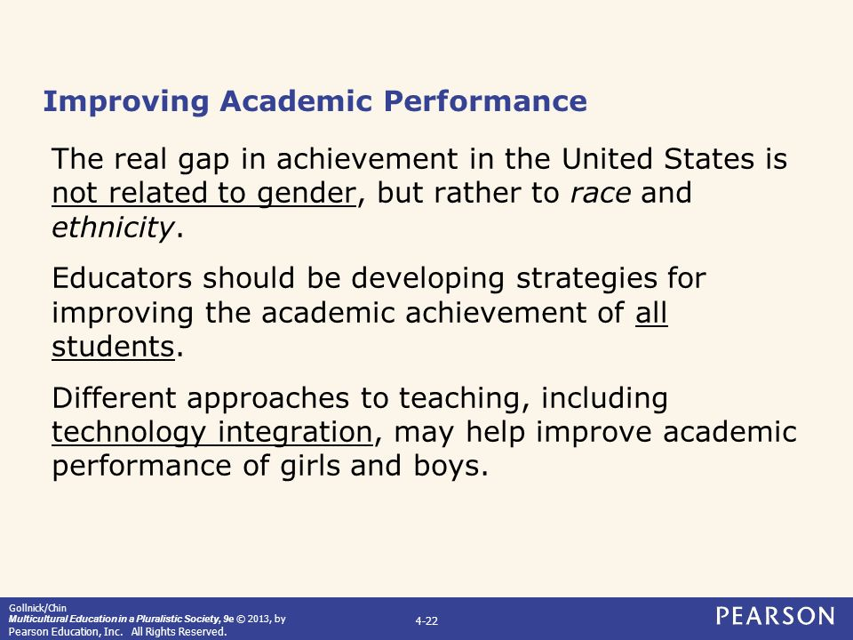 gender and educational achievement Educational attainment rates for 25- to 29-year-olds increased at all levels between 2000 and 2017 during this time, the percentage who had completed high school increased from 88 to 92.