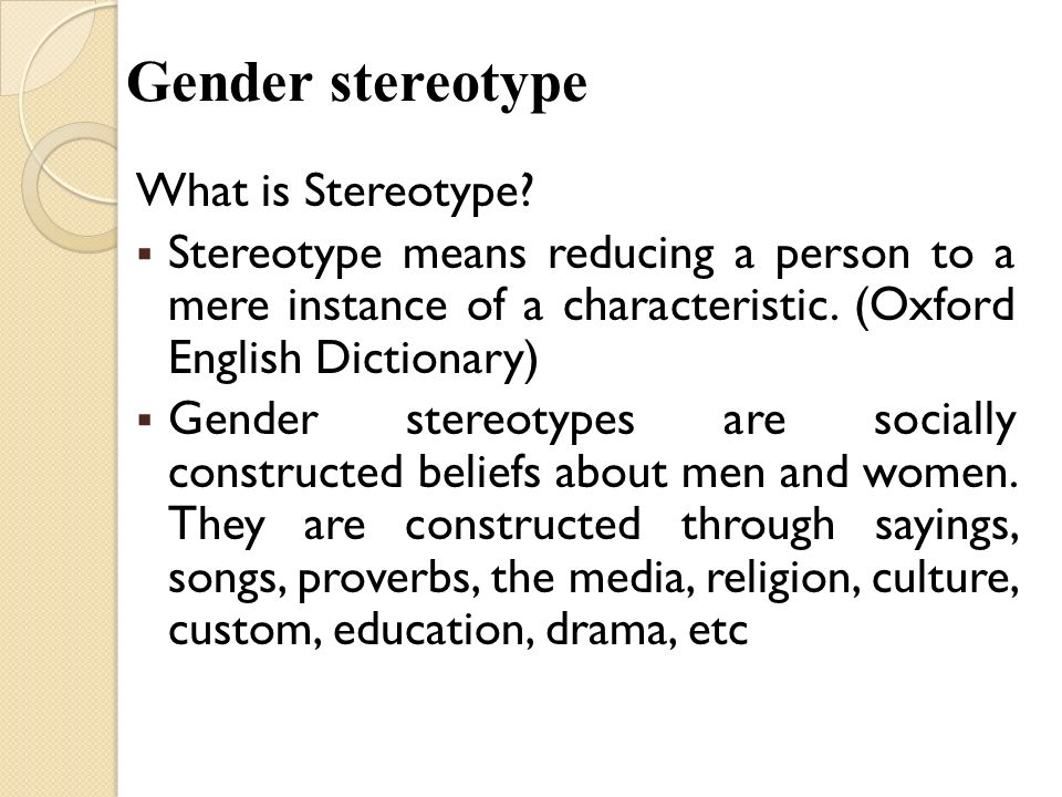 the social construction and stereotypes Key facets of identity—like gender , social class, age, sexual orientation, race and   identity, social construction , norms, ideology, intersectionality , stereotypes,.