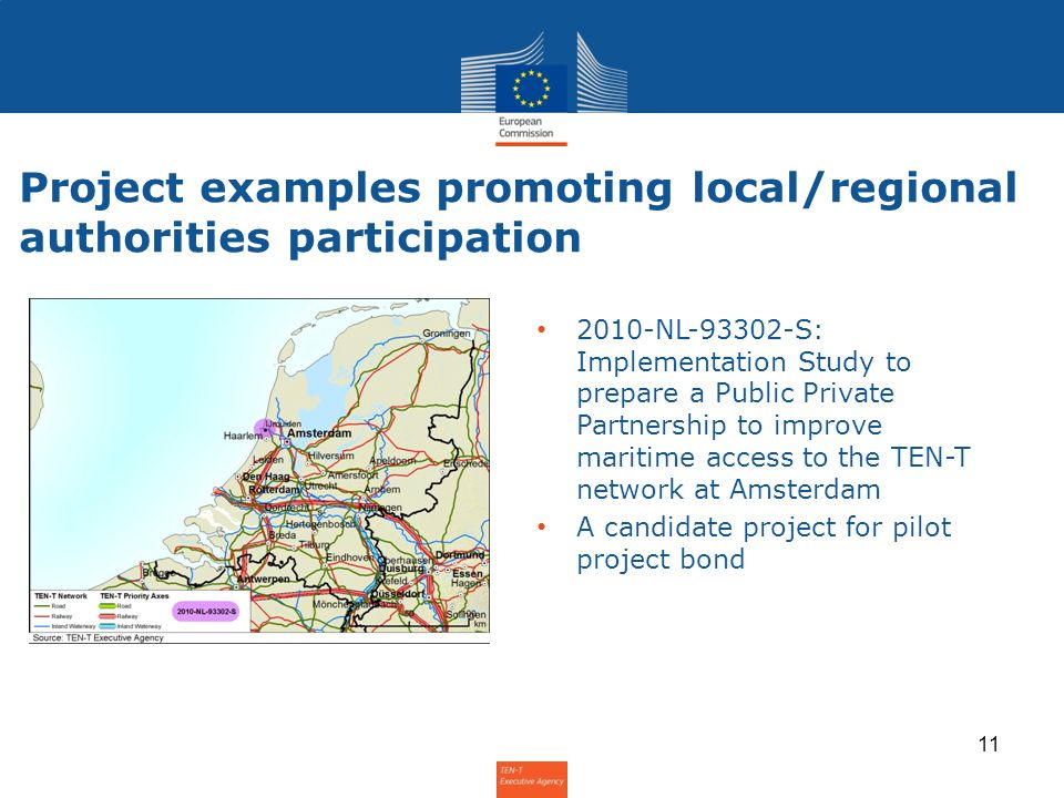Project examples promoting local/regional authorities participation