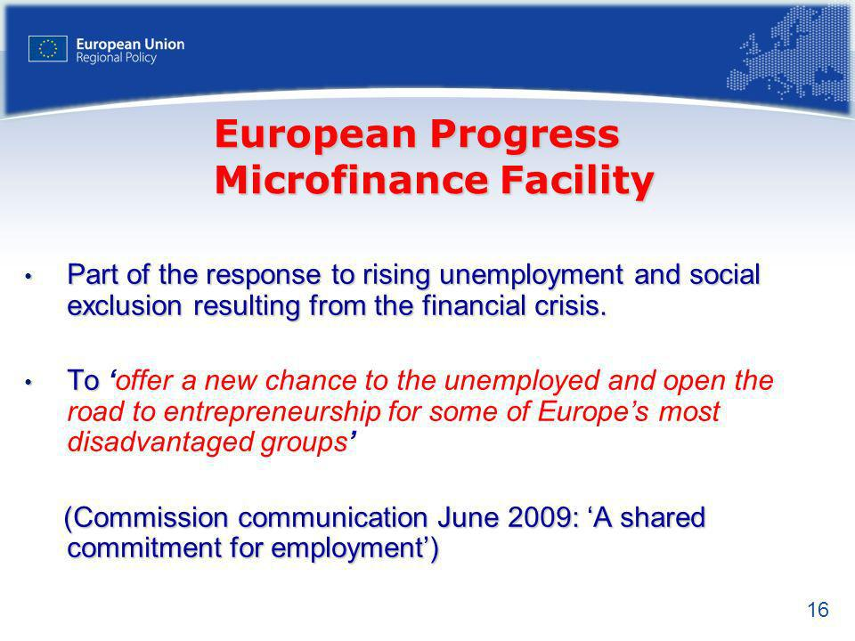 European Progress Microfinance Facility
