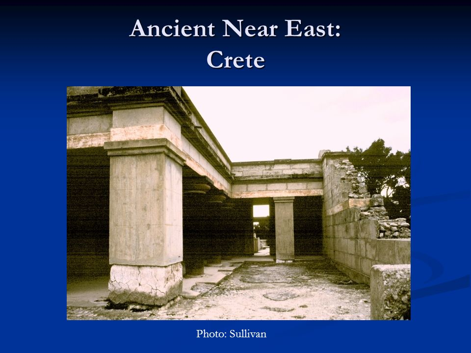 Ancient Near East: Crete