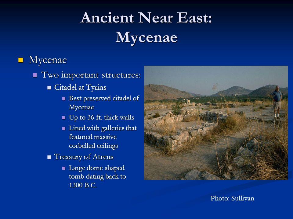 Ancient Near East: Mycenae