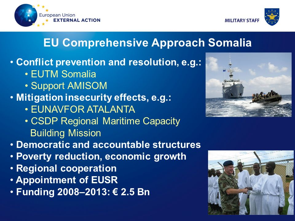 EU Comprehensive Approach Somalia