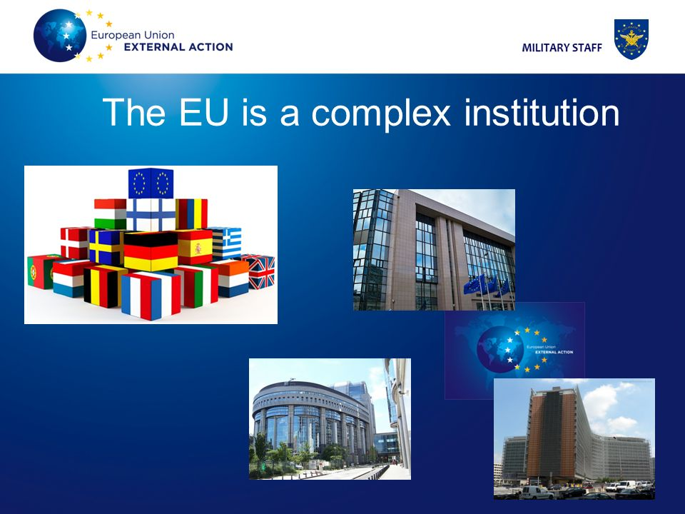 The EU is a complex institution