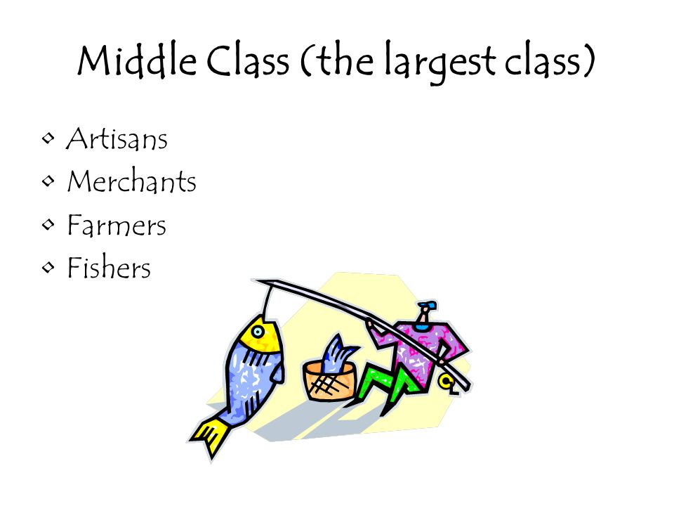 Middle Class (the largest class)