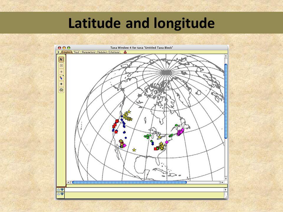 how to look up longitude and lattitude