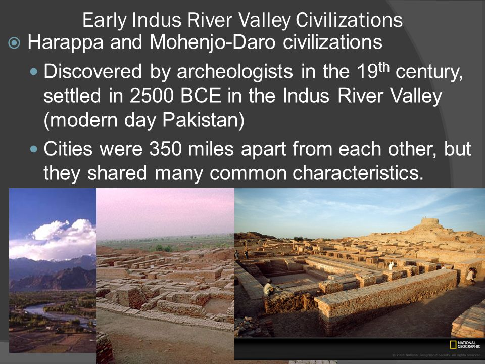 Early Indus River Valley Civilizations