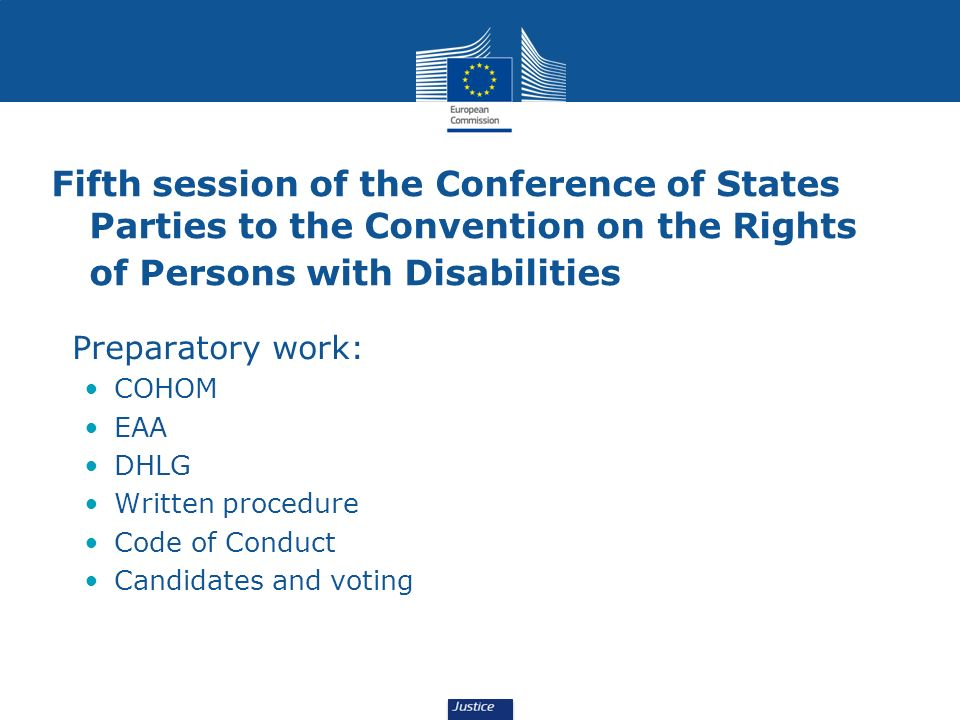 Fifth session of the Conference of States Parties to the Convention on the Rights of Persons with Disabilities