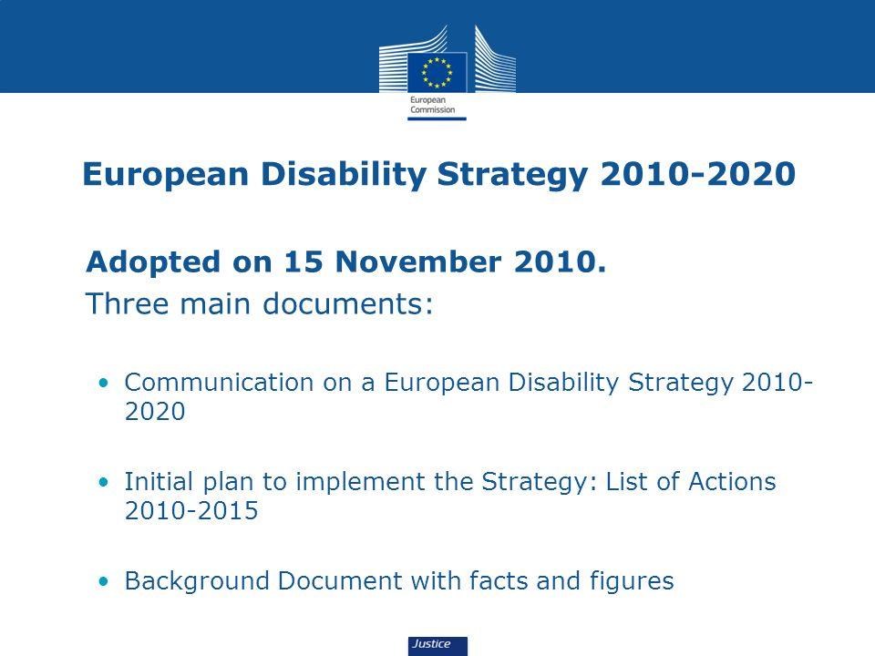 European Disability Strategy 2010-2020