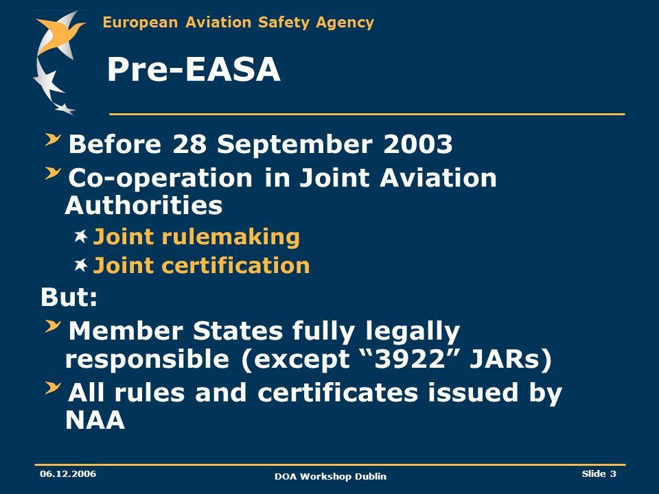 Pre-EASA Before 28 September 2003