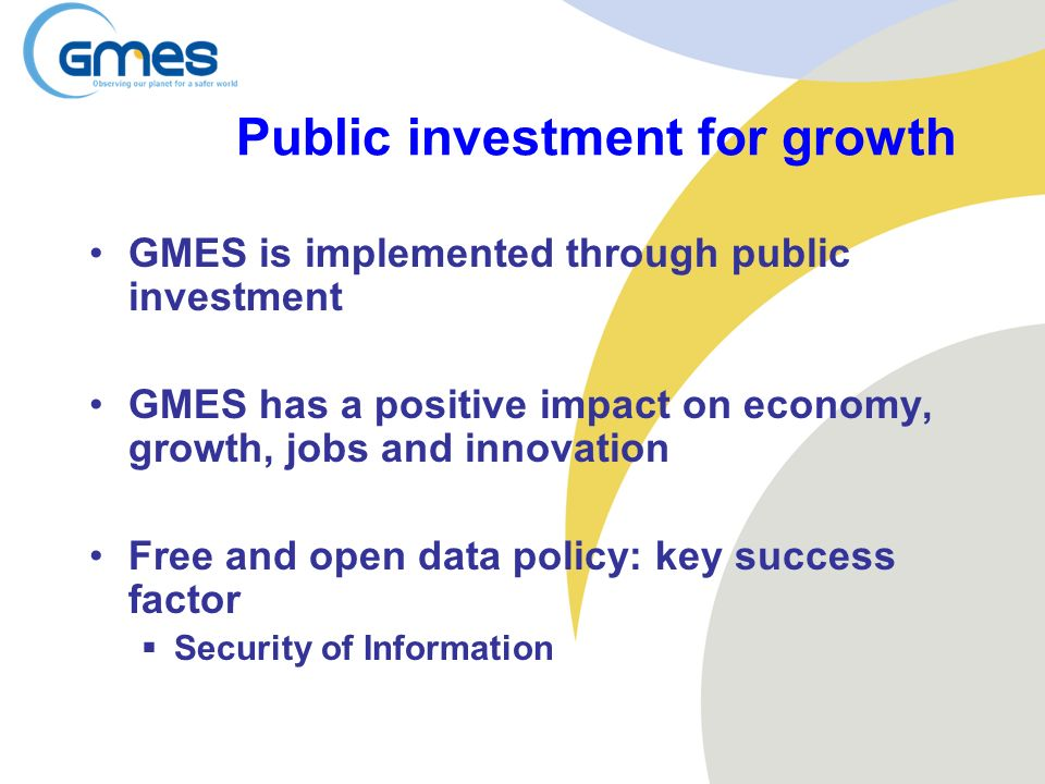 Public investment for growth