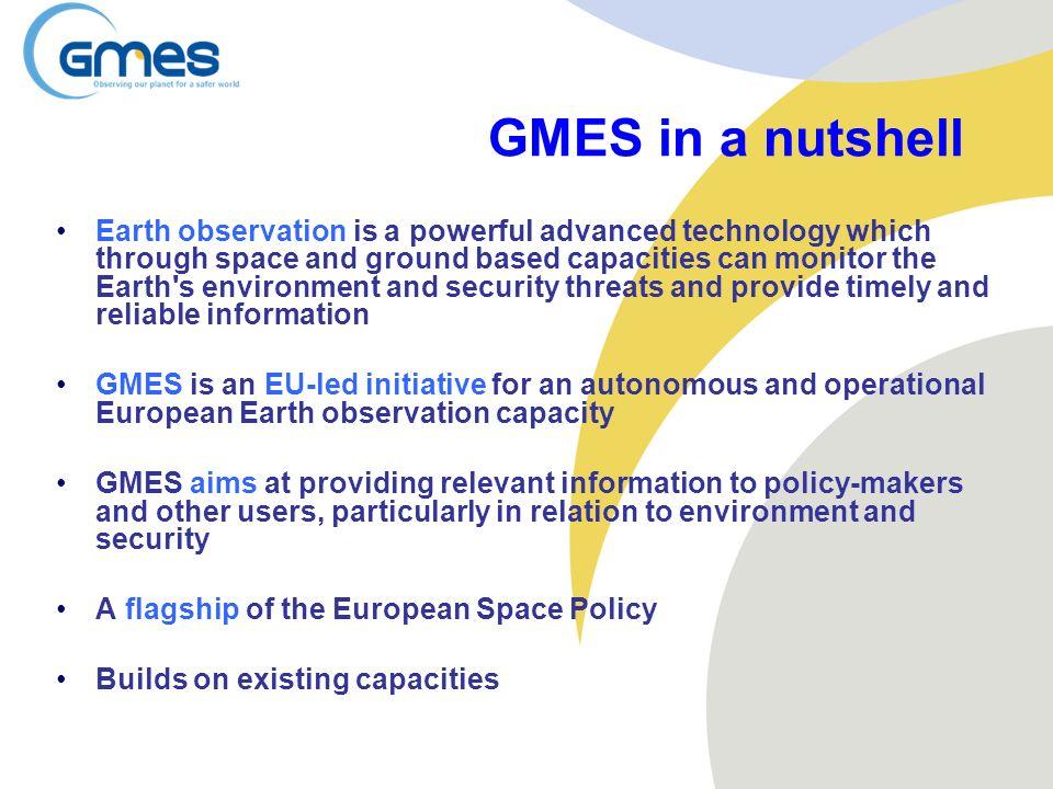 GMES in a nutshell