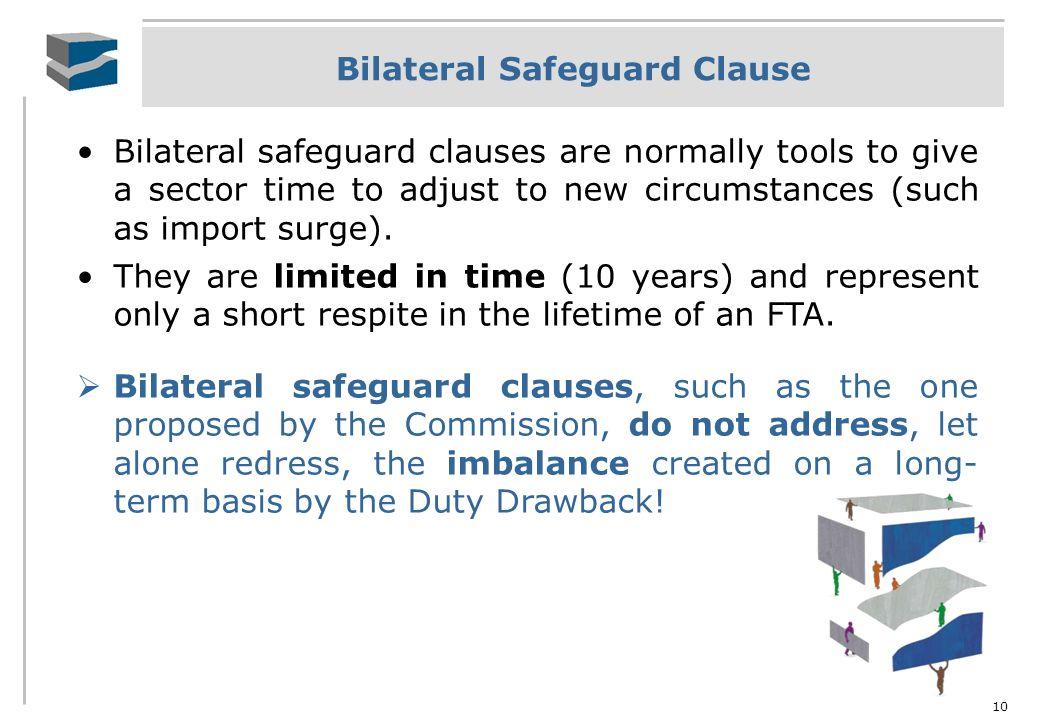 Bilateral Safeguard Clause