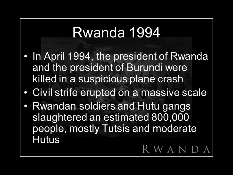 Image result for civil war erupted in rwanda