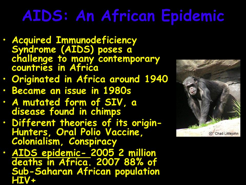 an introduction to the issue of aids in africa Chapter 1: introduction seventy percent of all new hiv infections take place in africa (unaids, 2003) and there research on hiv/aids education in african countries (as opposed to western settings) has.
