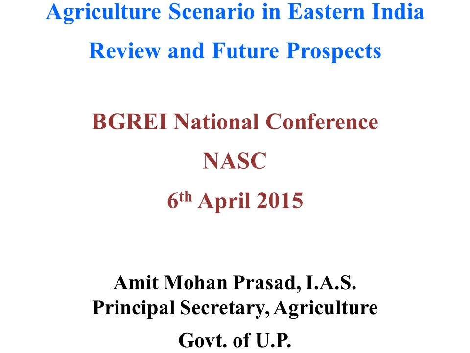 the agricultural scenario in india E-issn: 2278-487x, p-issn: 2319-7668 volume 19, issue 10 ver ii (october 2017), pp 05-11 wwwiosrjournalsorg doi: 109790/487x-1910020511 www iosrjournalsorg 5 | page performance appraisal of indian agricultural system with special reference to agricultural scenario in the state of kerala.