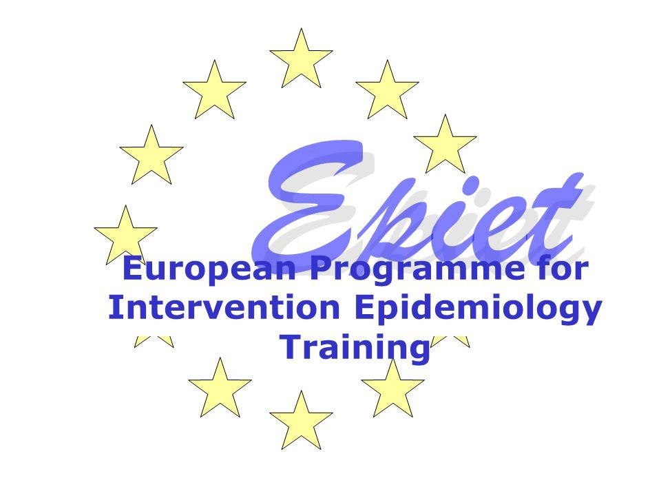 European Programme for Intervention Epidemiology Training