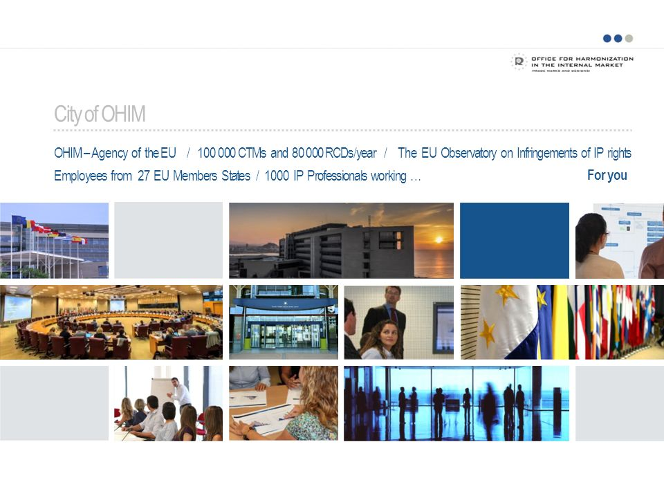 City of OHIM OHIM – Agency of the EU /