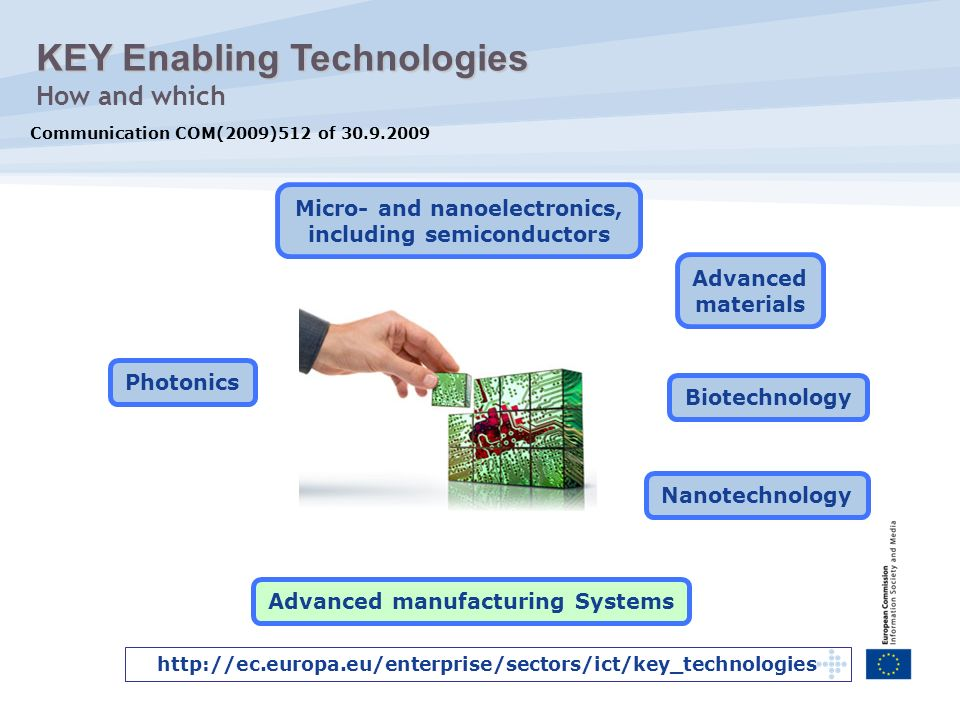 KEY Enabling Technologies How and which