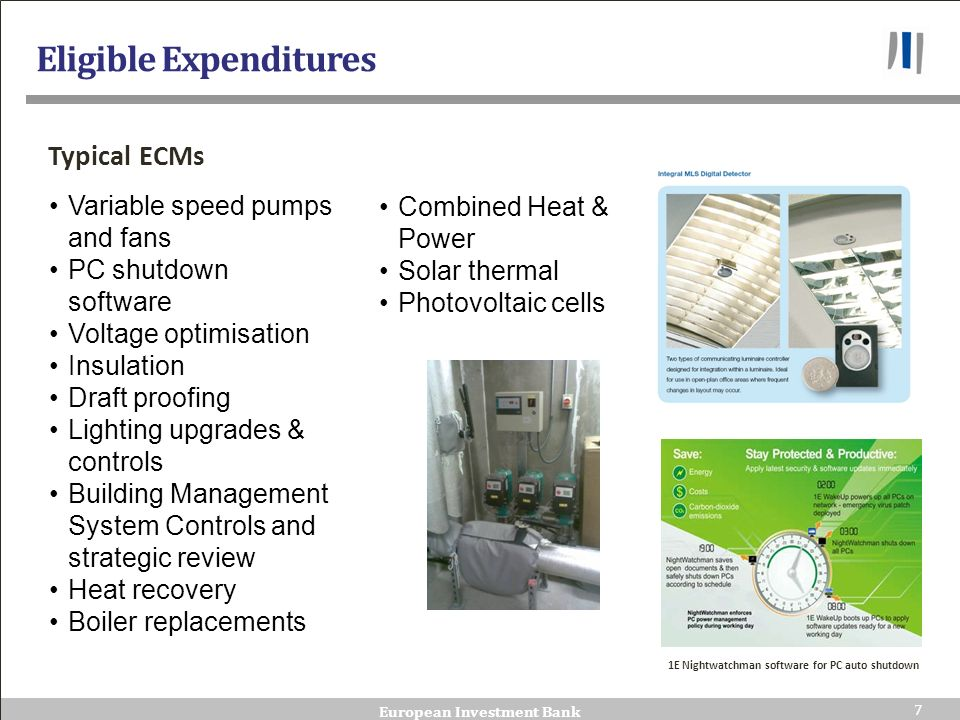 Eligible Expenditures