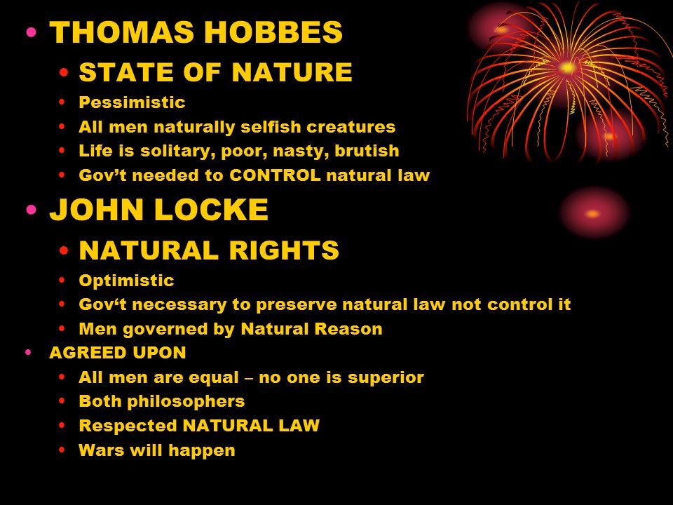 john locke the state of nature I've read john locke on the state of nature in two treatise on government but it still seems fuzzy, what is his state of nature can anybody define this clearly.