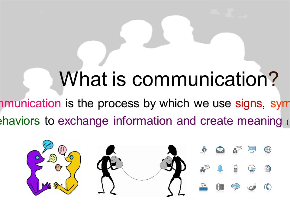 Stappers communication and information process
