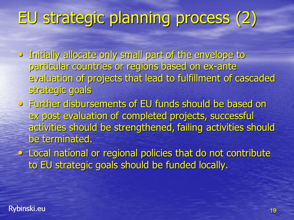 EU strategic planning process (2)