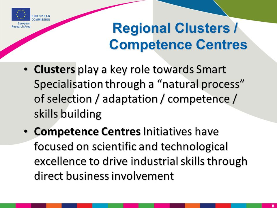 Regional Clusters / Competence Centres