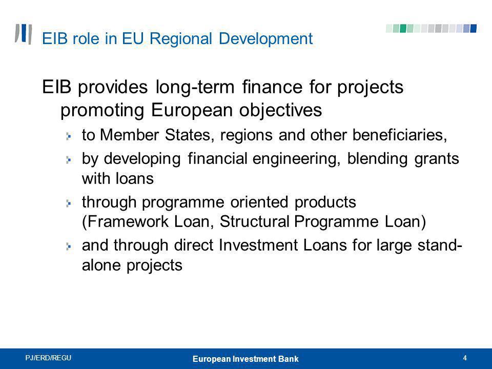 EIB role in EU Regional Development