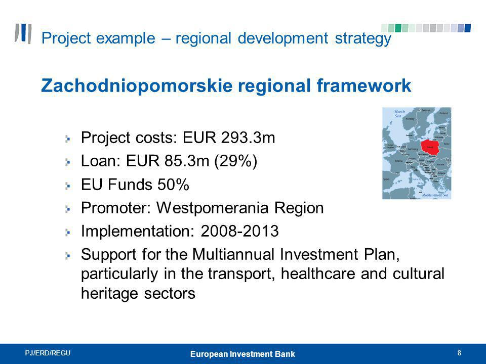 Project example – regional development strategy