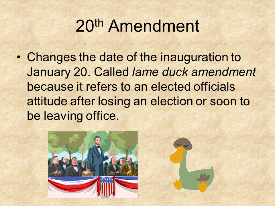 Understanding Amendments ppt download - 137.2KB