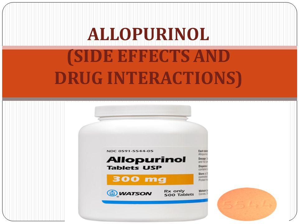 Zyloprim Allopurinol Side Effects