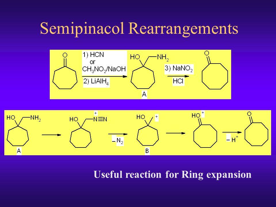 Mechanism Of Tiffeneau Demjanov Ring Expansion
