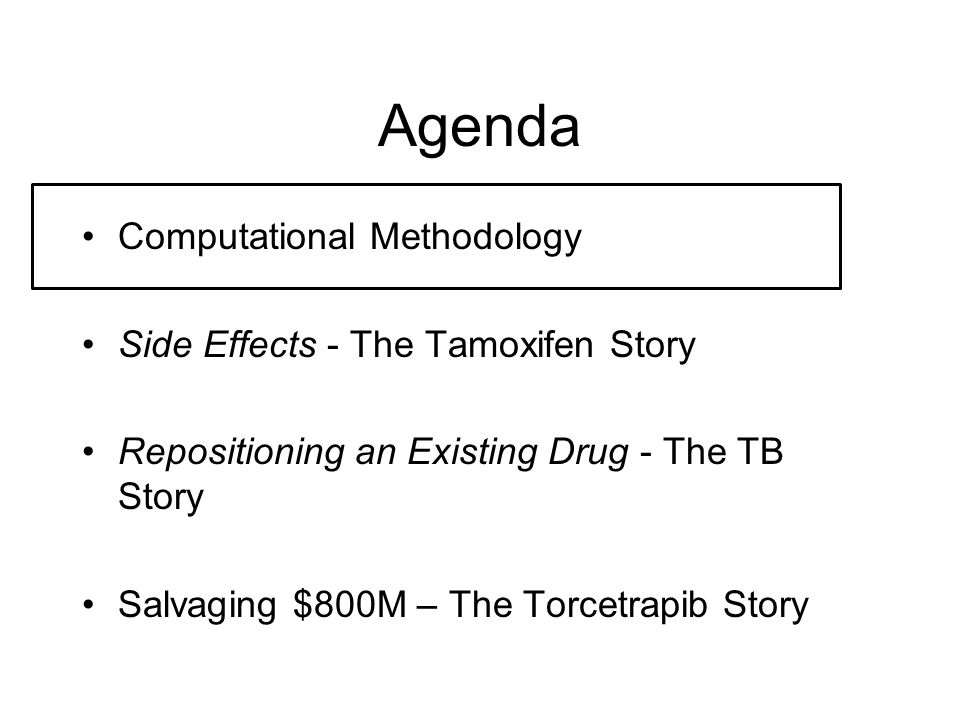 Tamoxifen Side Effects For Males
