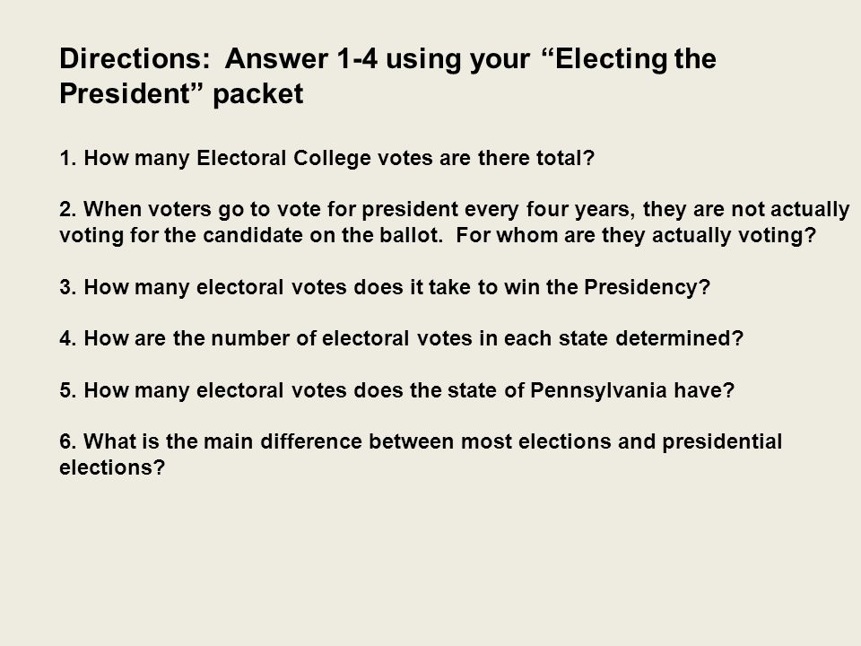 the electoral college pros cons alternatives ppt video online the electoral college pros cons alternatives 2 directions