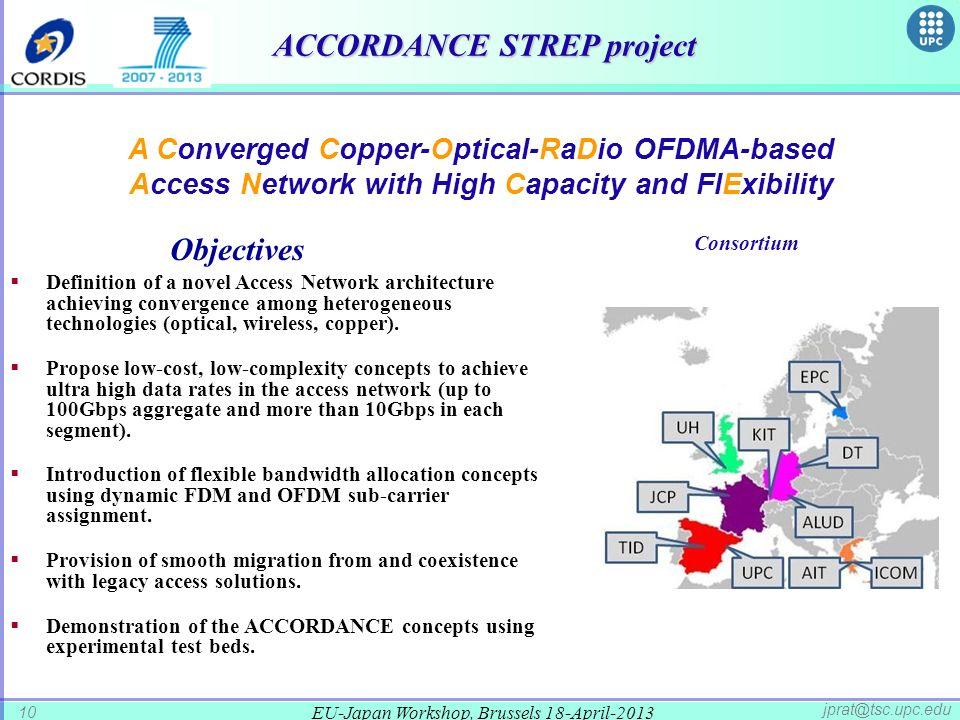 ACCORDANCE STREP project