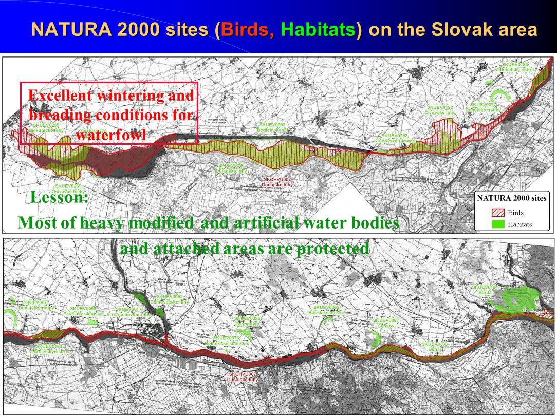 NATURA 2000 sites (Birds, Habitats) on the Slovak area