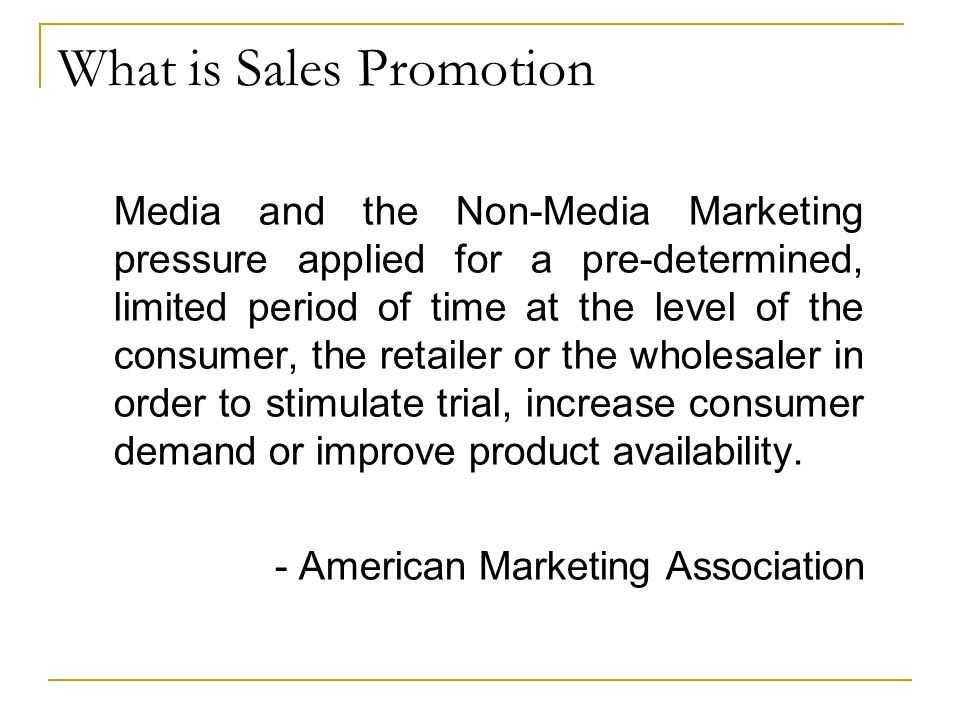 sales promotion techniques Sales promotion examples and activities that you can use to promote your small business there are sales promotion tips and techniques that can benefit you.