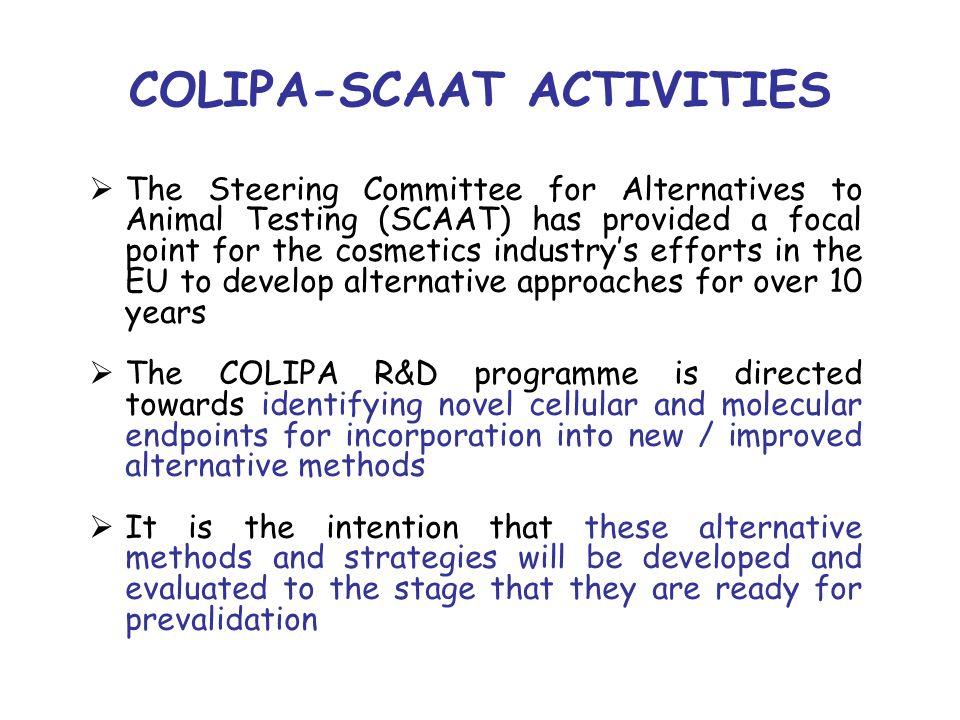 COLIPA-SCAAT ACTIVITIES