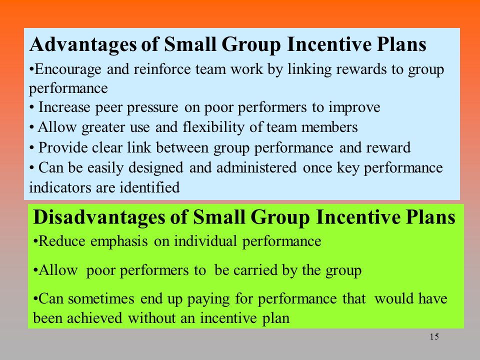 Tangible benefits of employee incentive programs include: increases in sales, performance, profits and productivity and decreases in accident rates and absenteeism. I recommend to clients that want to start an incentive program to have the duration last at least 6 months.