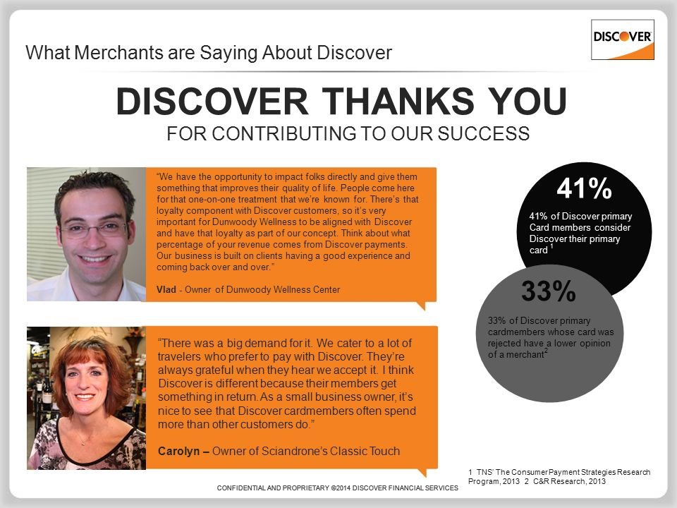 Discover® Opportunities ppt download
