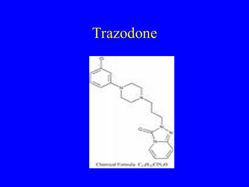 Trazodone And Weight Loss