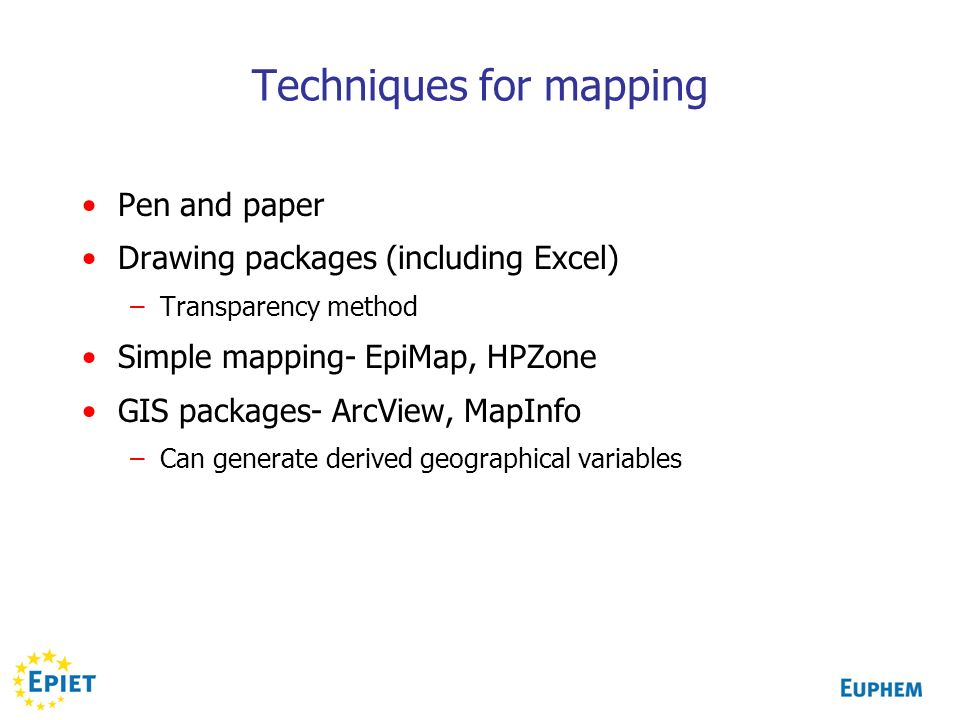 Techniques for mapping