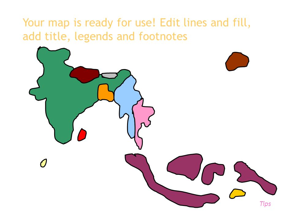 Your map is ready for use