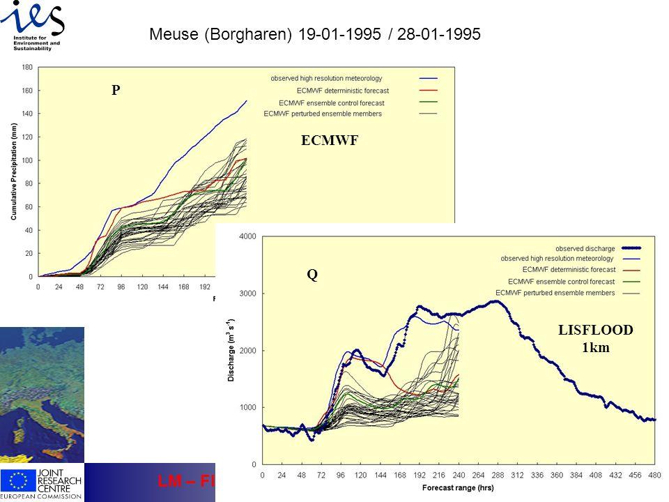 Meuse (Borgharen) 19-01-1995 / 28-01-1995