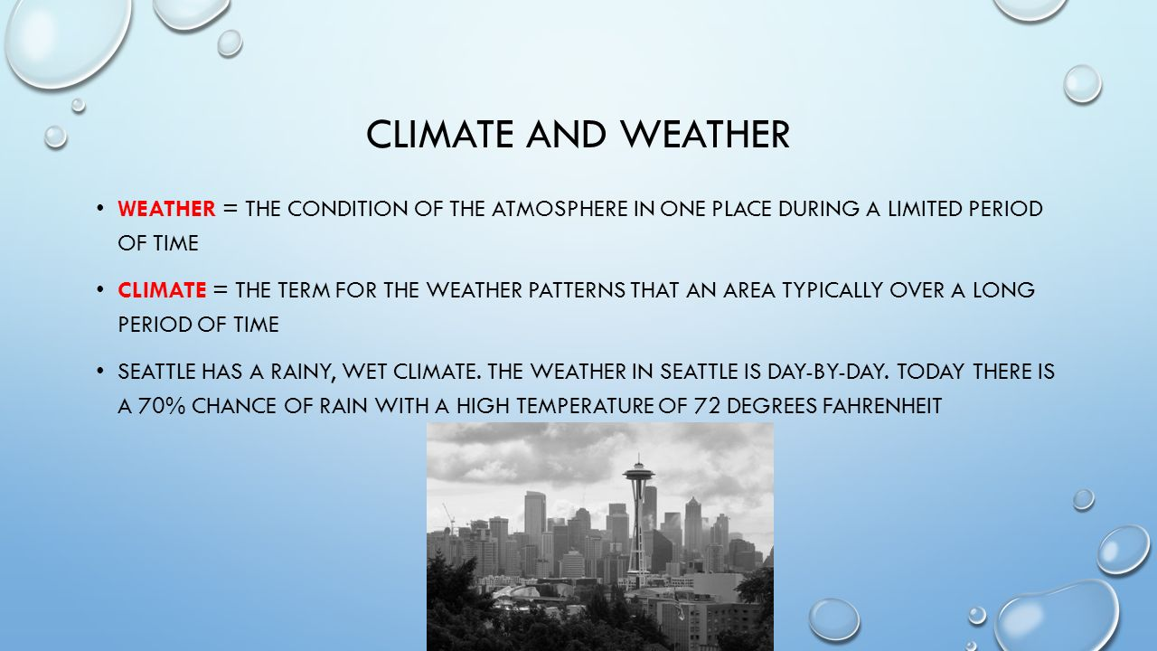 chapter 1 weather and climate Chapter 3 weather and climate section 1: factors affecting climate section 2: weather factors section 3: climate and vegetation patterns 1 holt, rinehart and winston section 1 factors affecting climate holt world geography today objectives: how does the sun affect earth's atmosphere.