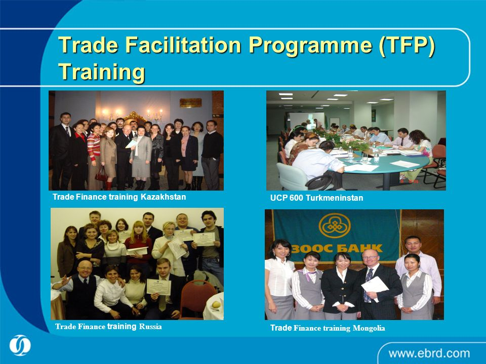 Trade Facilitation Programme (TFP) Training