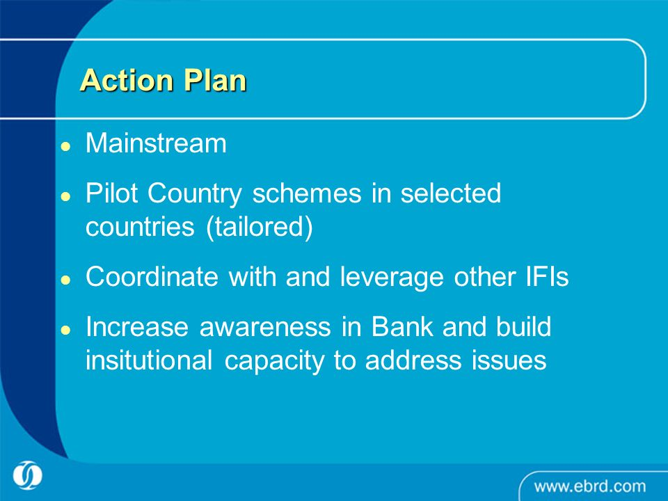 Action Plan Mainstream