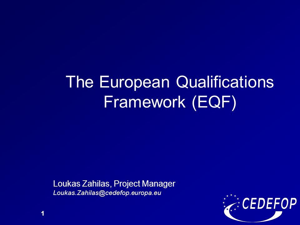 The European Qualifications Framework (EQF)