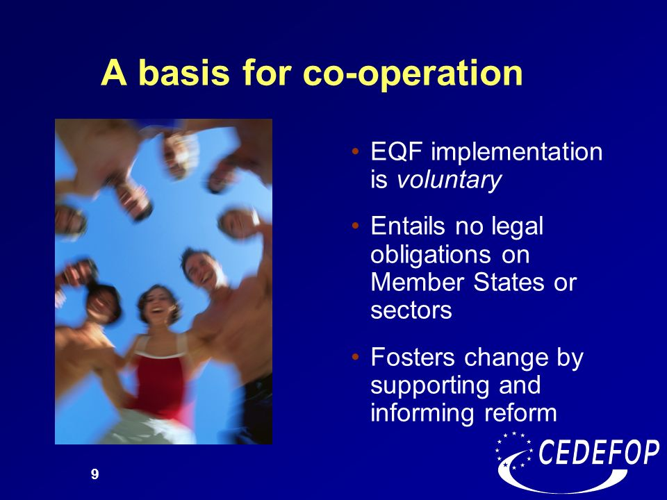 A basis for co-operation